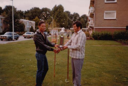 Roel Waterval en Jack Timal